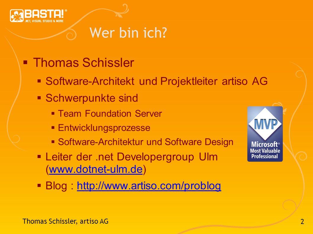 Wer bin ich Thomas Schissler