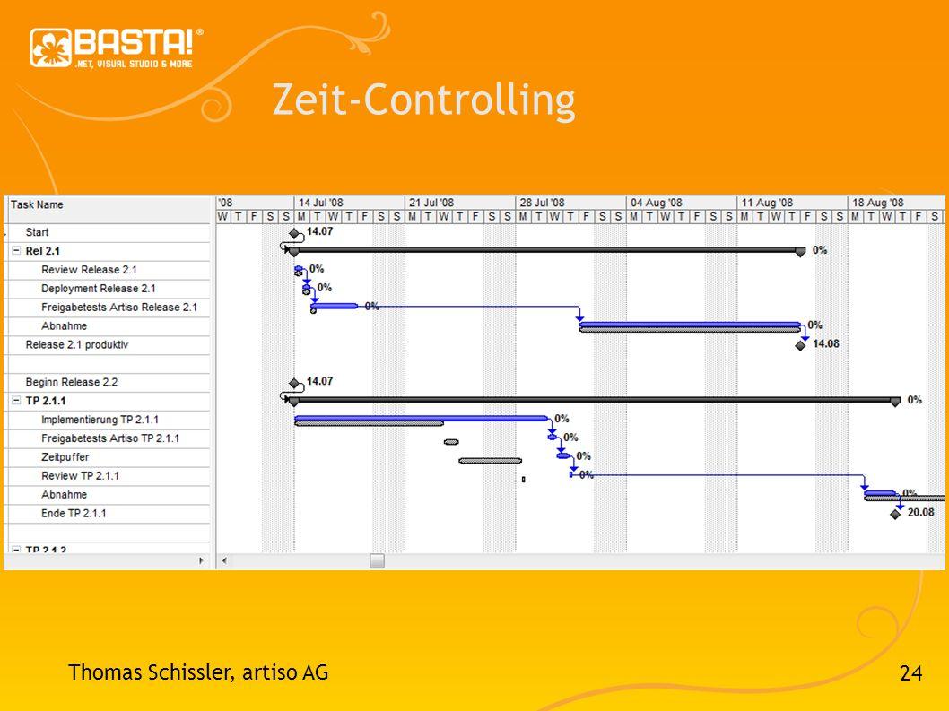 Zeit-Controlling Thomas Schissler, artiso AG