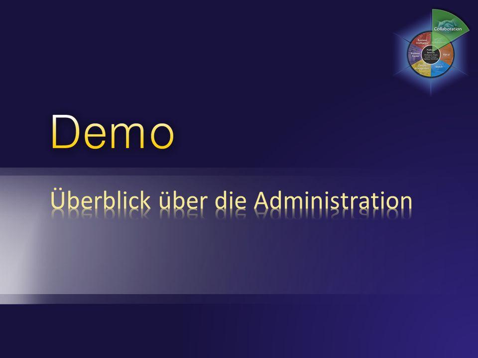 Überblick über die Administration