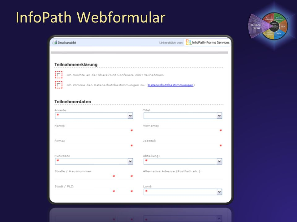 InfoPath Webformular 3/28/2017 7:01 PM
