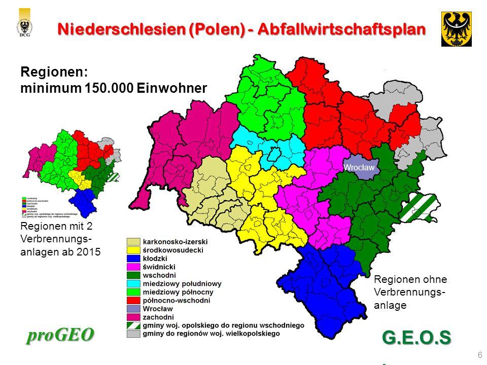 Niederschlesien (Polen) - Abfallwirtschaftsplan