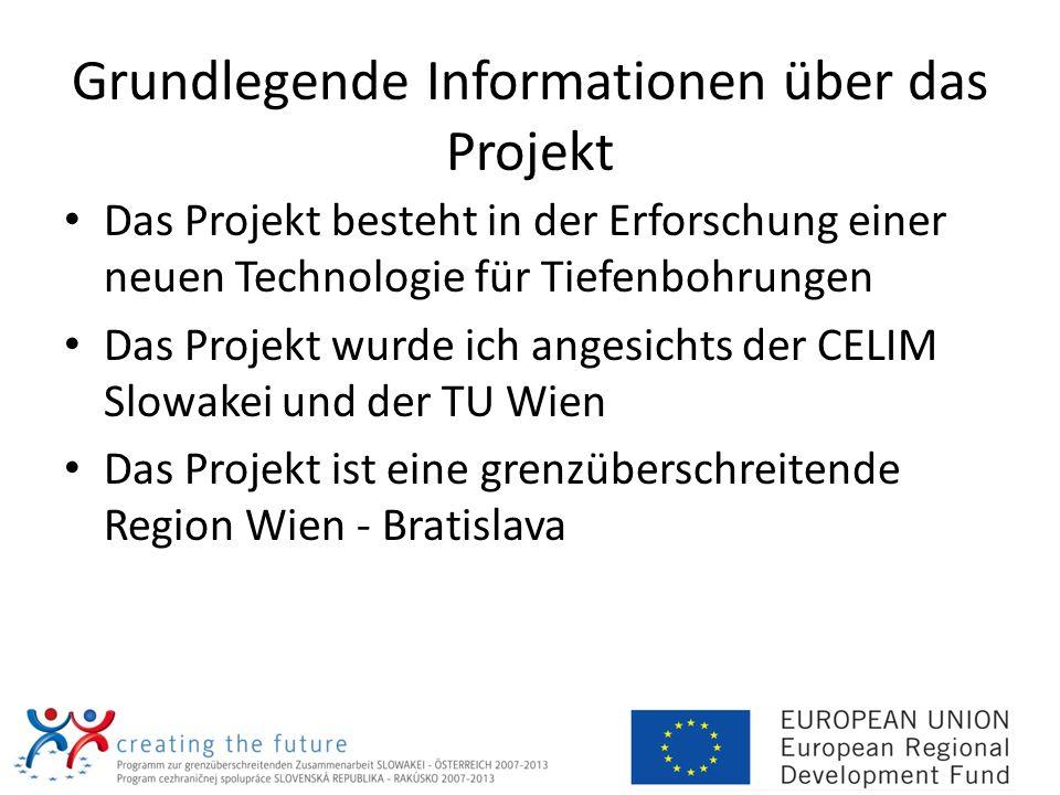 Grundlegende Informationen über das Projekt