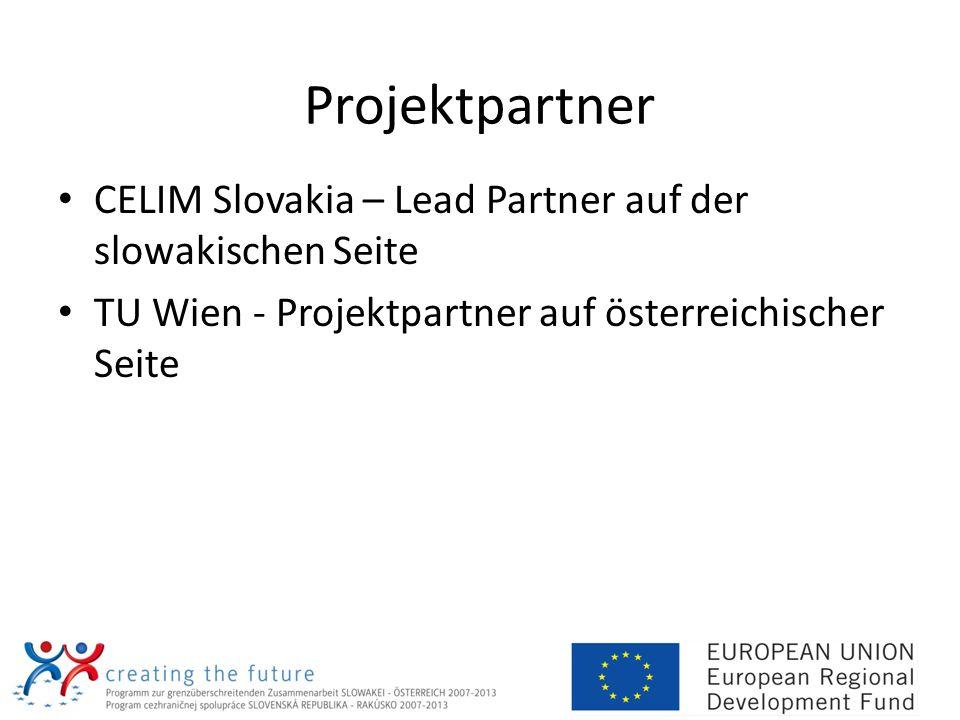 Projektpartner CELIM Slovakia – Lead Partner auf der slowakischen Seite.