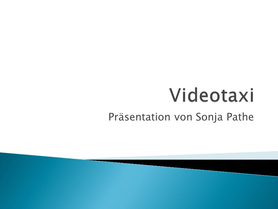 Präsentation von Sonja Pathe
