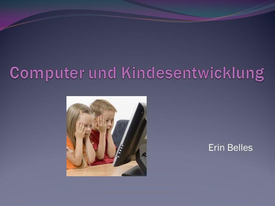 Computer und Kindesentwicklung