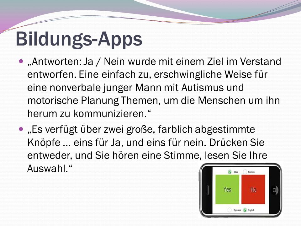 Bildungs-Apps