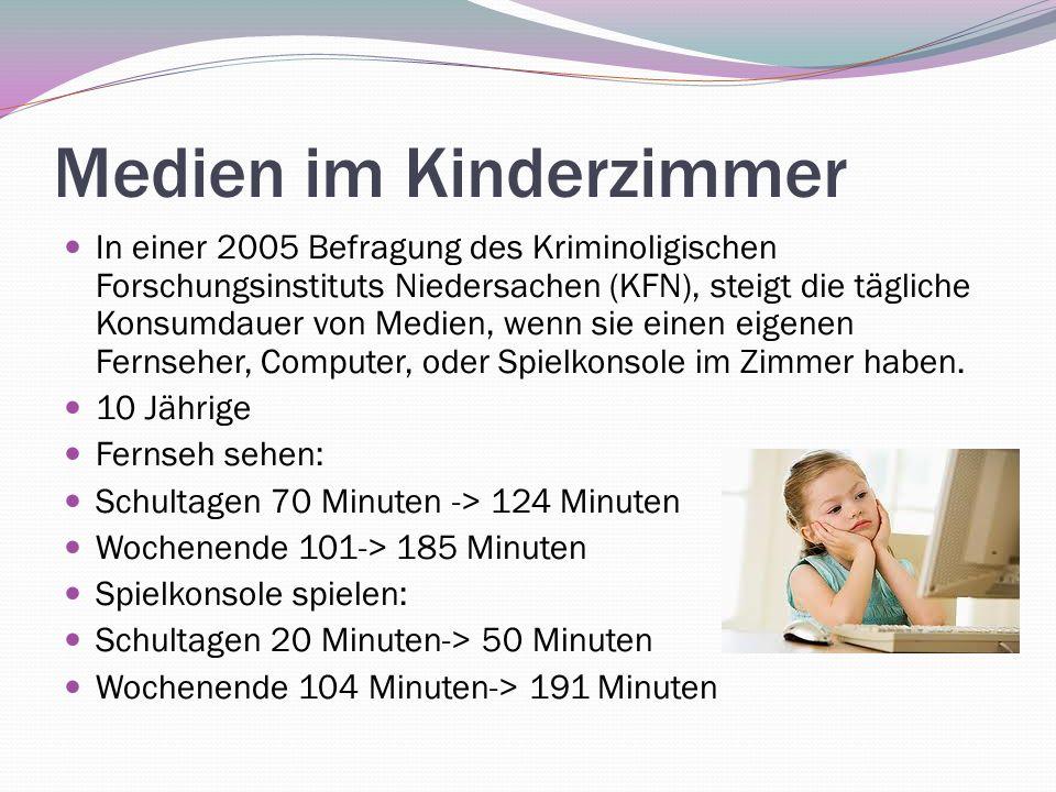 Medien im Kinderzimmer
