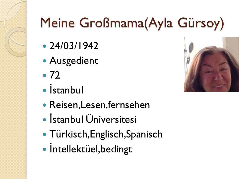 Meine Großmama(Ayla Gürsoy)