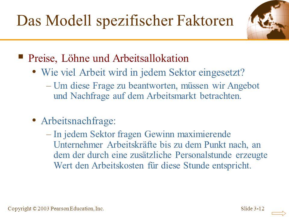 Das Modell spezifischer Faktoren