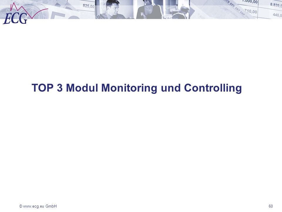 TOP 3 Modul Monitoring und Controlling