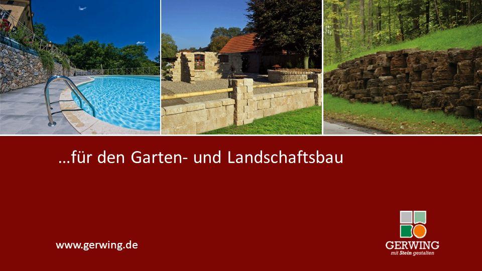 …für den Garten- und Landschaftsbau