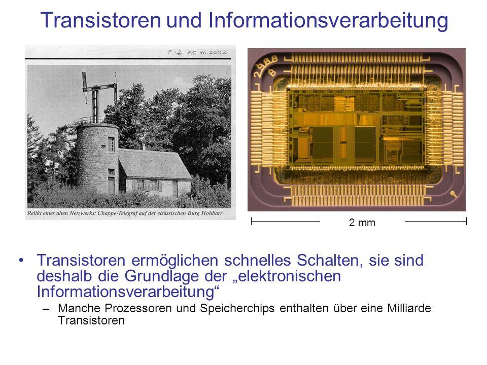 Transistoren und Informationsverarbeitung