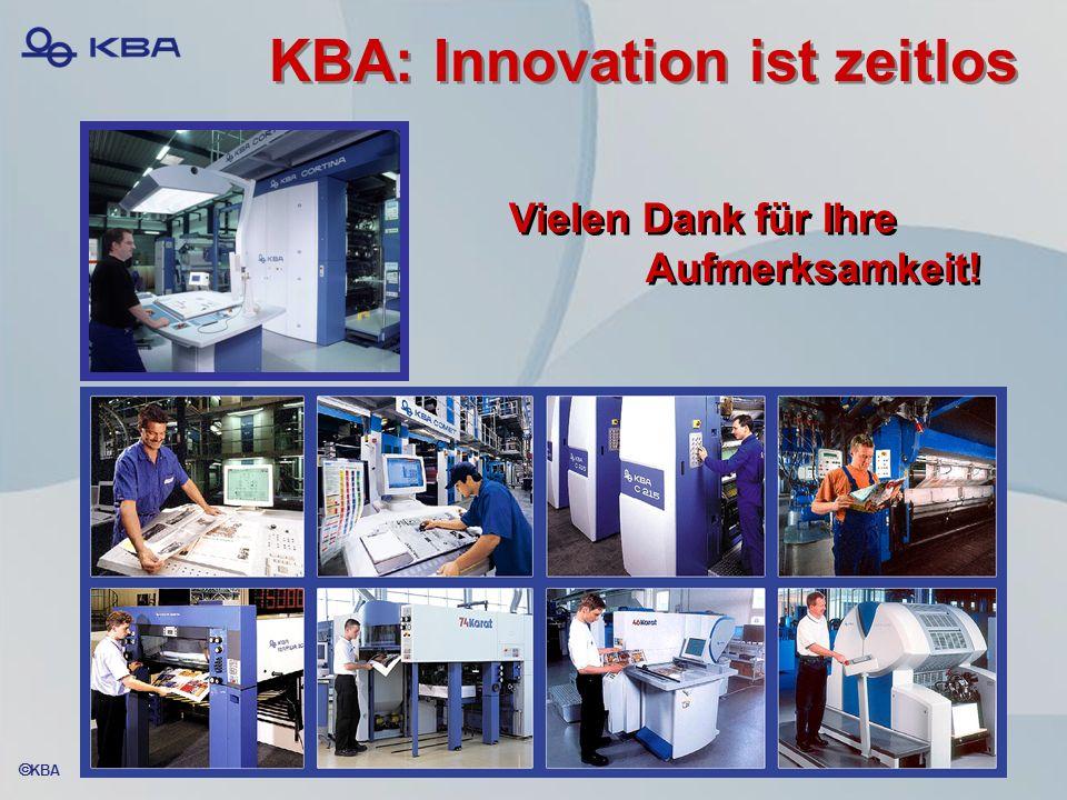KBA: Innovation ist zeitlos