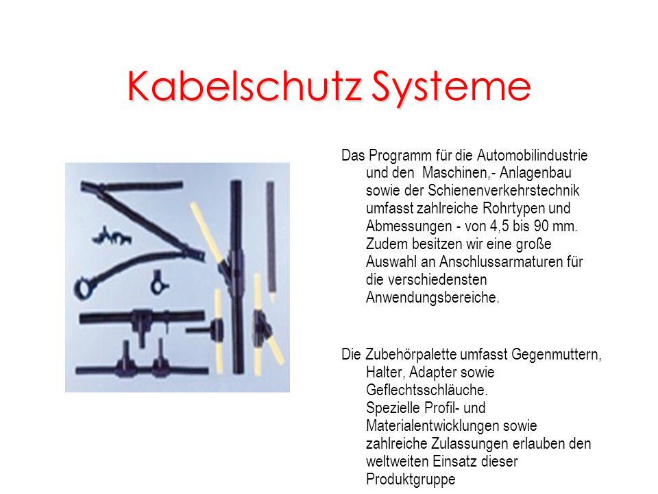 Kabelschutz Systeme