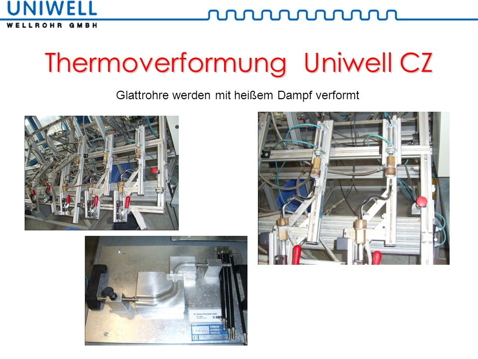 Thermoverformung Uniwell CZ