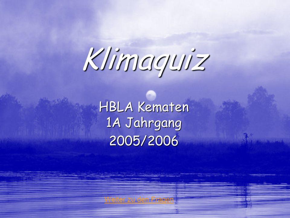 HBLA Kematen 1A Jahrgang 2005/2006