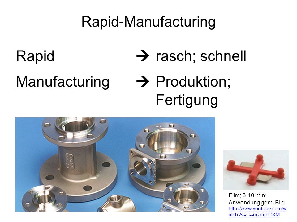 Manufacturing  Produktion; Fertigung