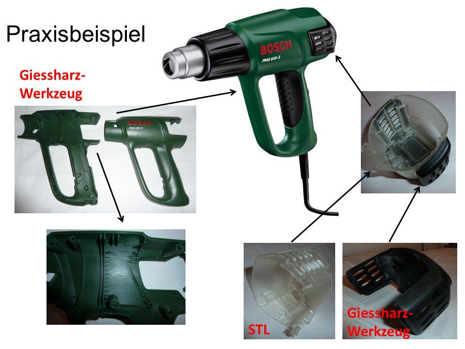 STL Giessharz-Werkzeug Praxisbeispiel