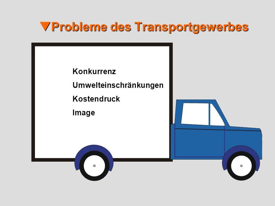 Probleme des Transportgewerbes