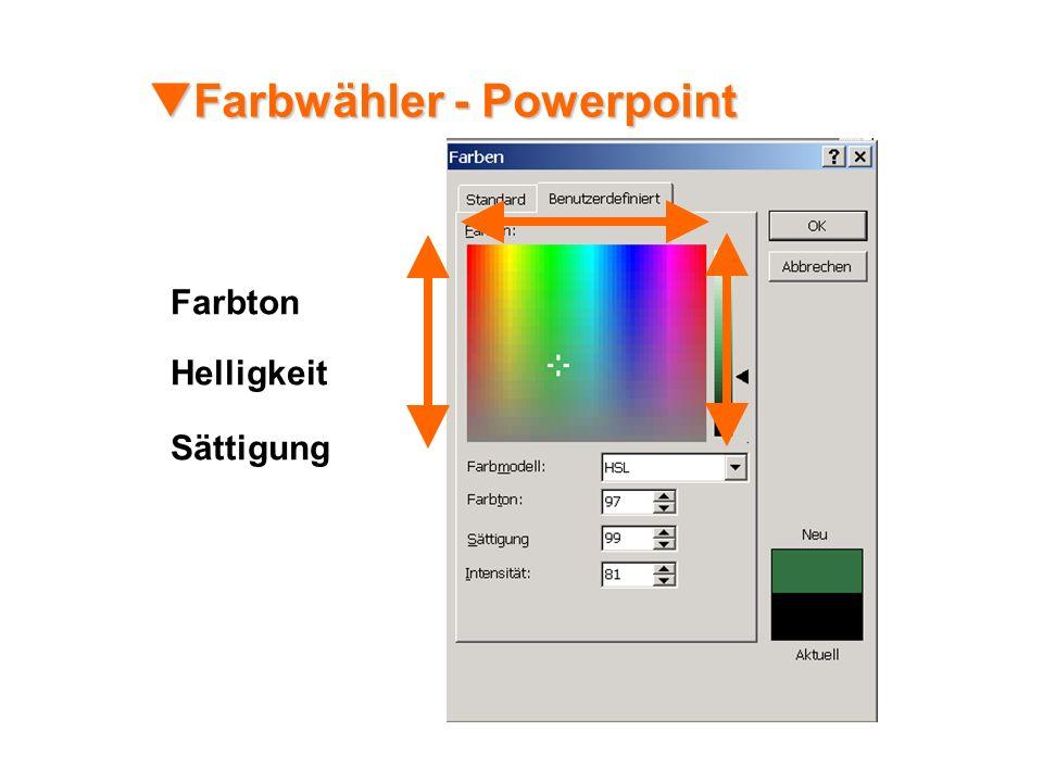 Farbwähler - Powerpoint