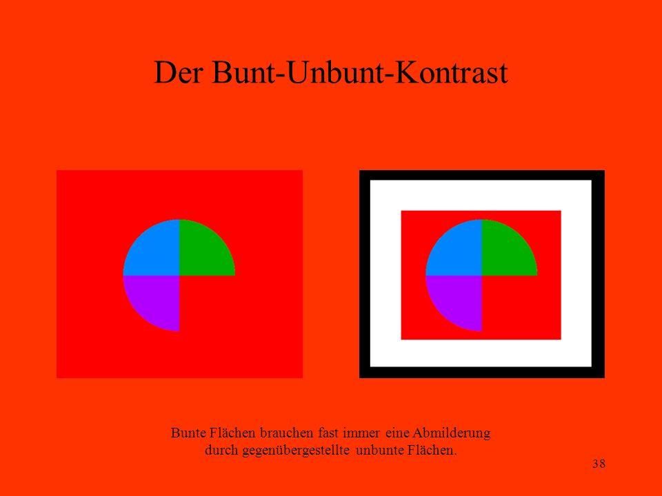 Der Bunt-Unbunt-Kontrast