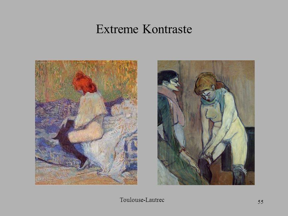 Extreme Kontraste Toulouse-Lautrec