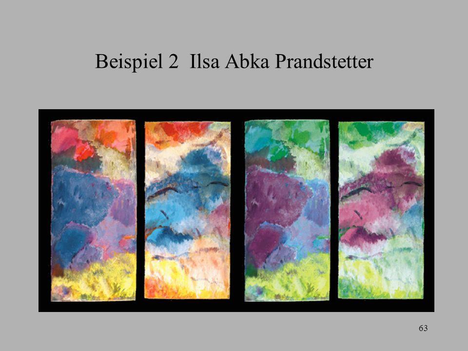 Beispiel 2 Ilsa Abka Prandstetter