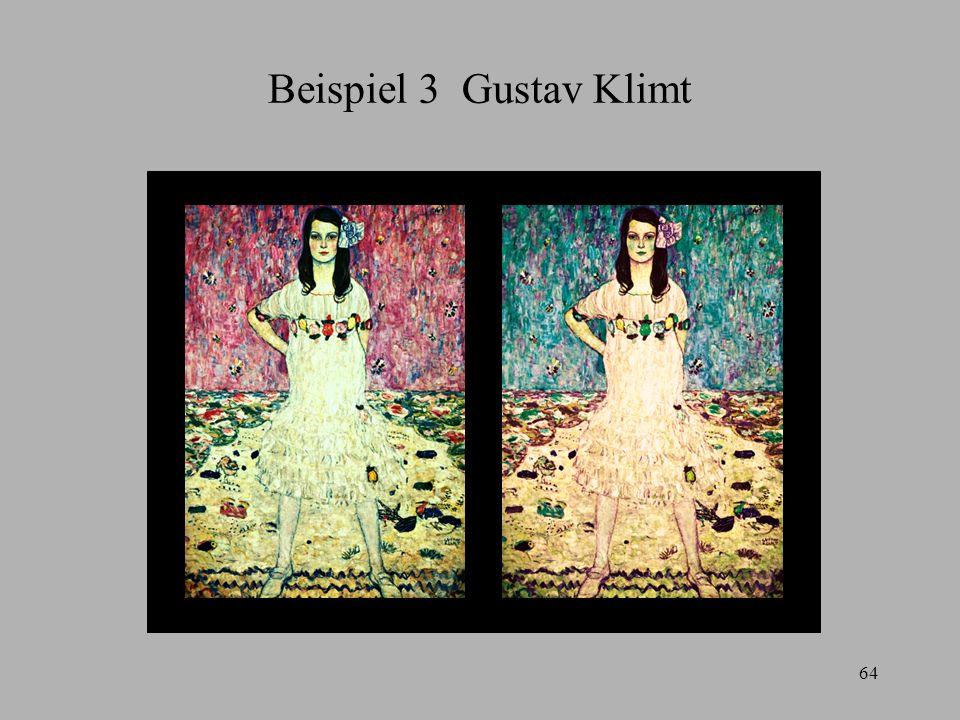 Beispiel 3 Gustav Klimt