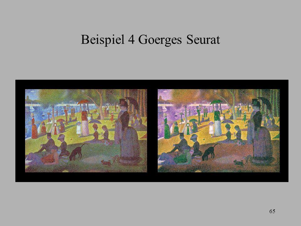 Beispiel 4 Goerges Seurat
