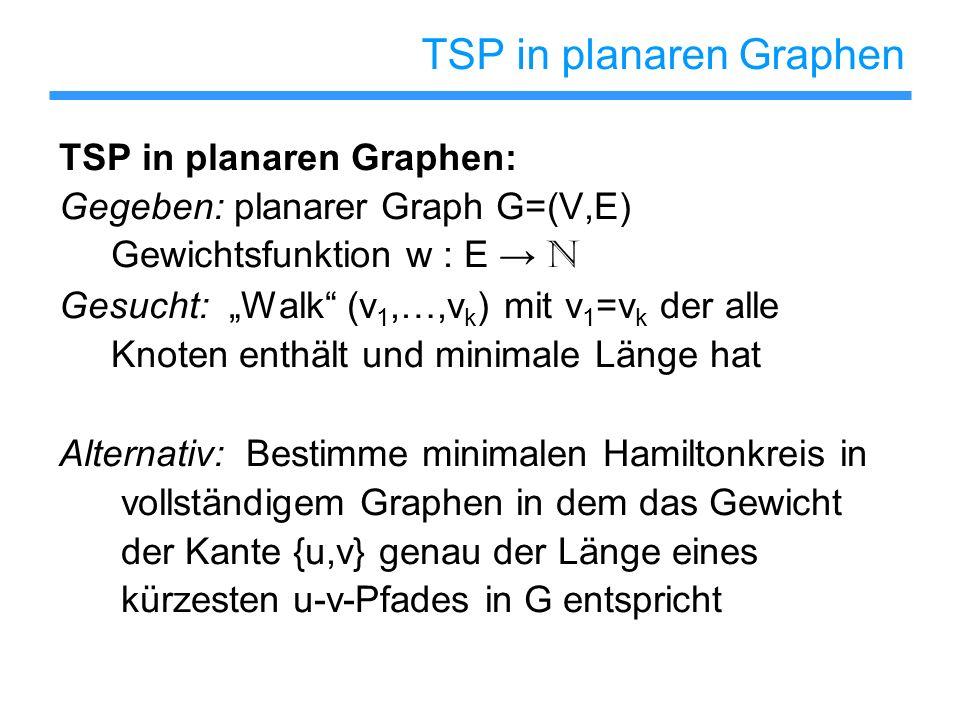 TSP in planaren Graphen