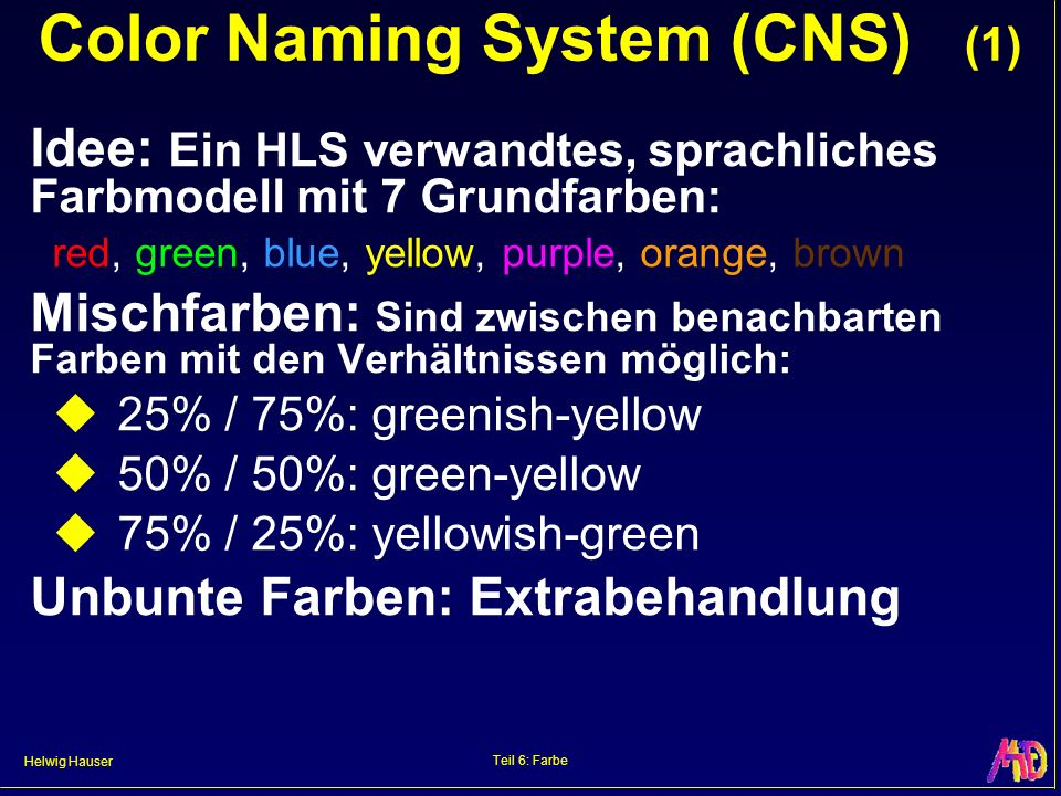 Color Naming System (CNS) (1)