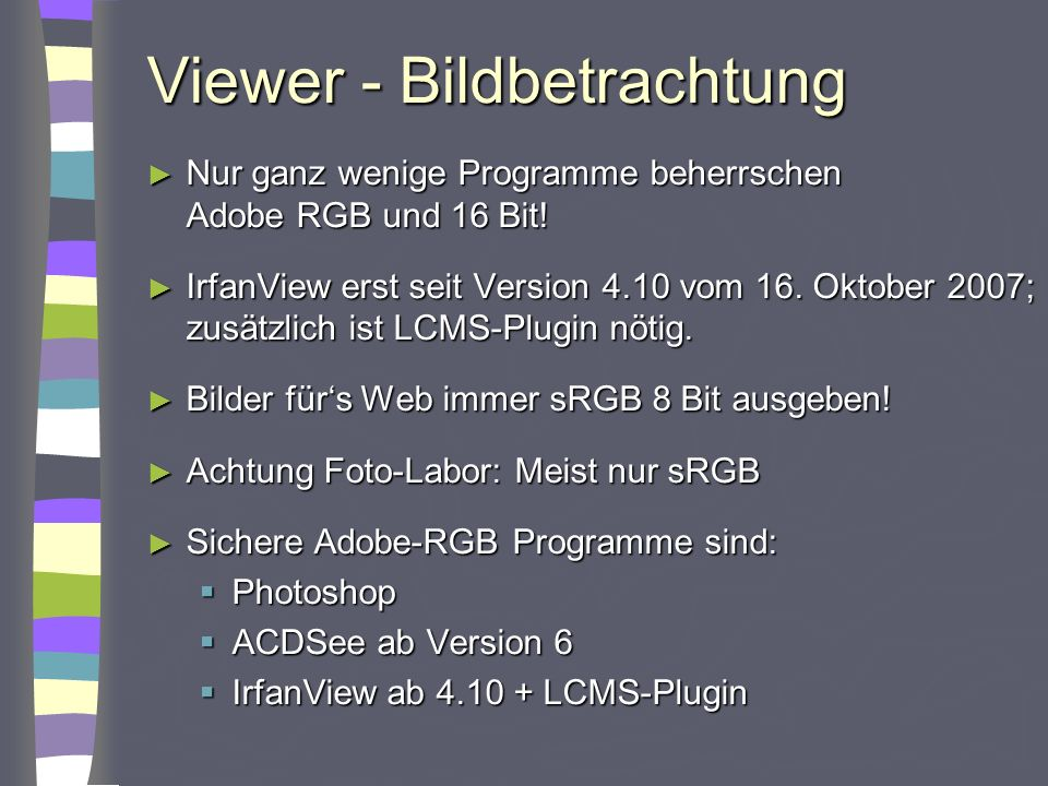 Viewer - Bildbetrachtung