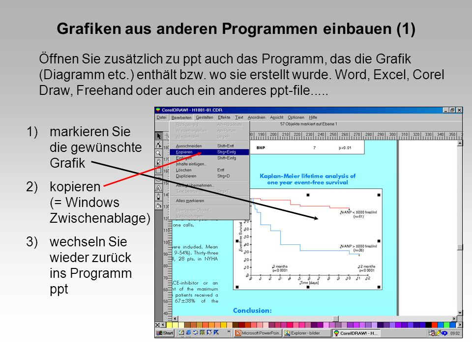Grafiken aus anderen Programmen einbauen (1)
