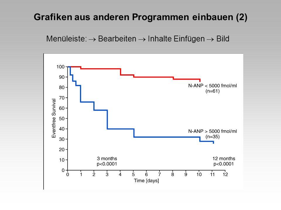 Grafiken aus anderen Programmen einbauen (2)