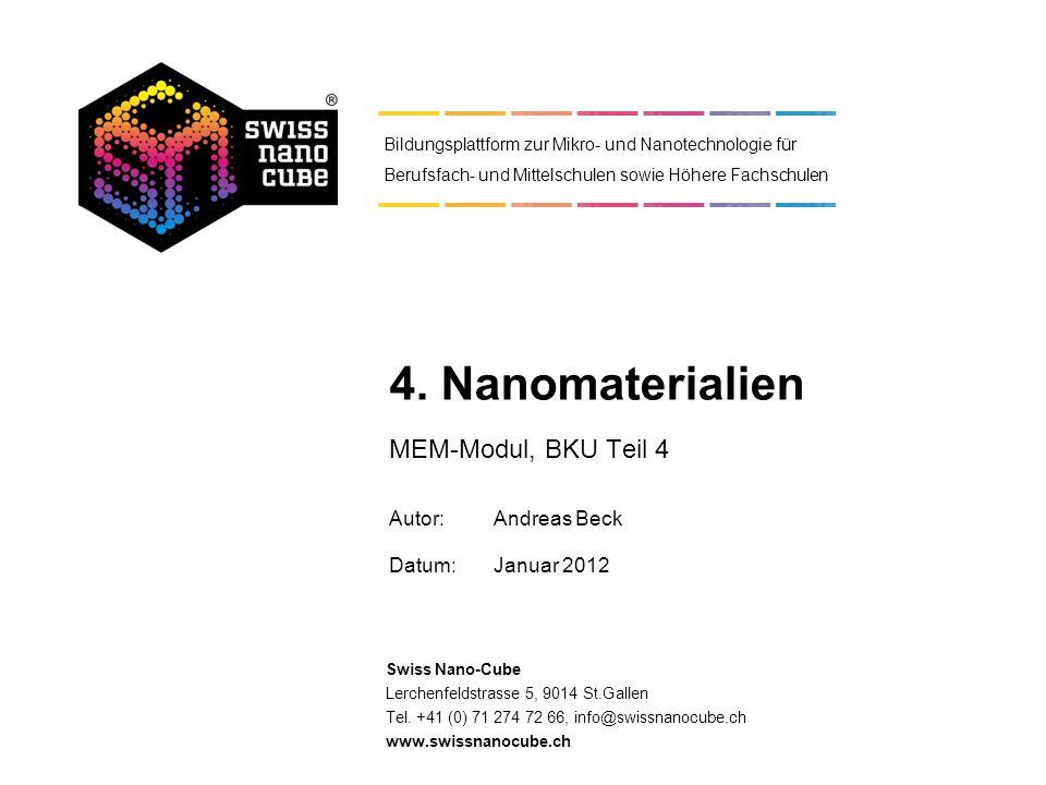 Was ist ein Nanomaterial