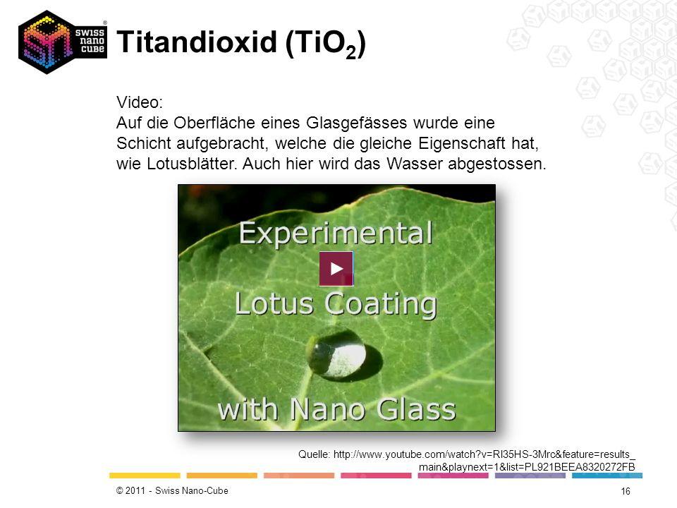 Titandioxid (TiO2)