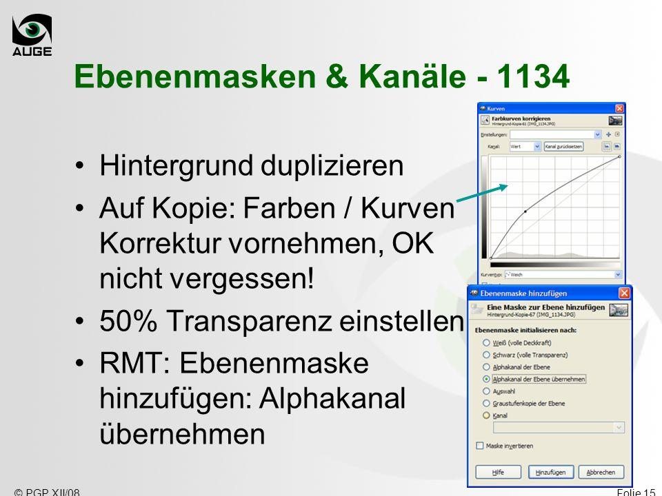 Ebenenmasken & Kanäle - 1134