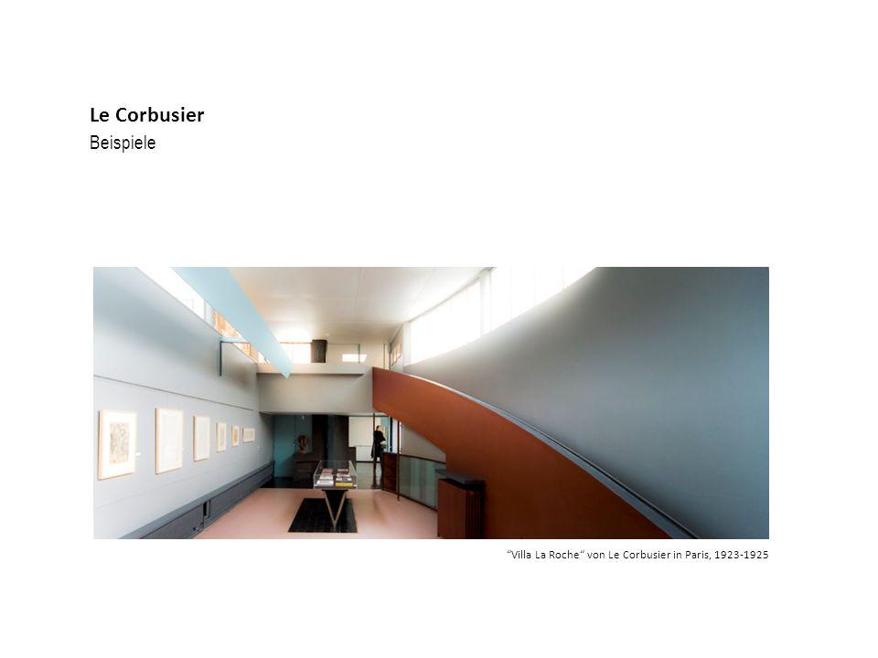Le Corbusier Beispiele