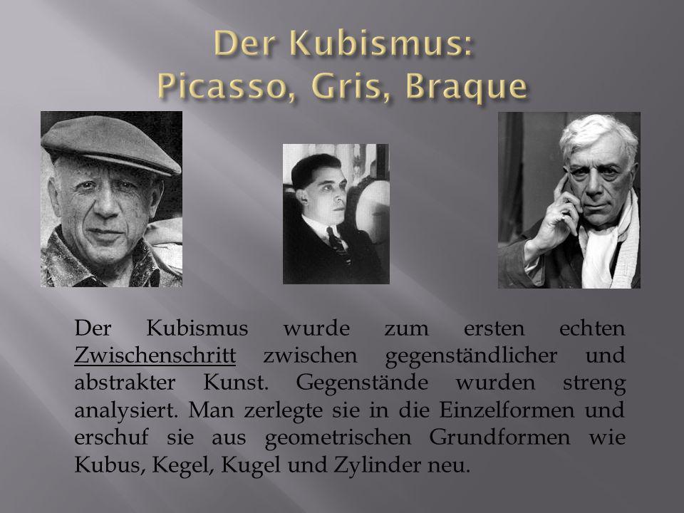 Der Kubismus: Picasso, Gris, Braque