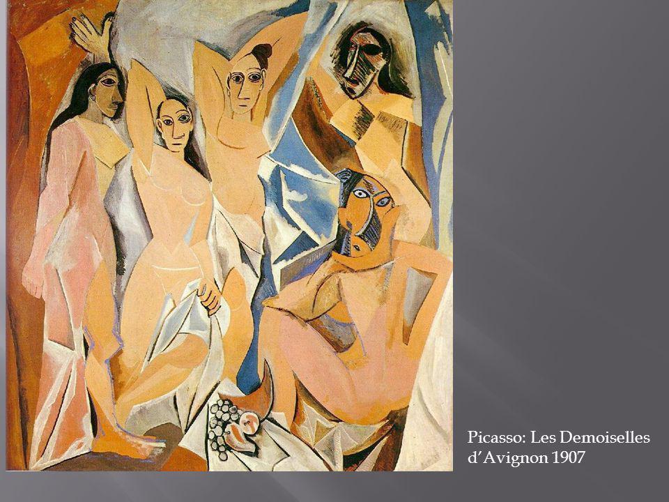 Picasso: Les Demoiselles d'Avignon 1907