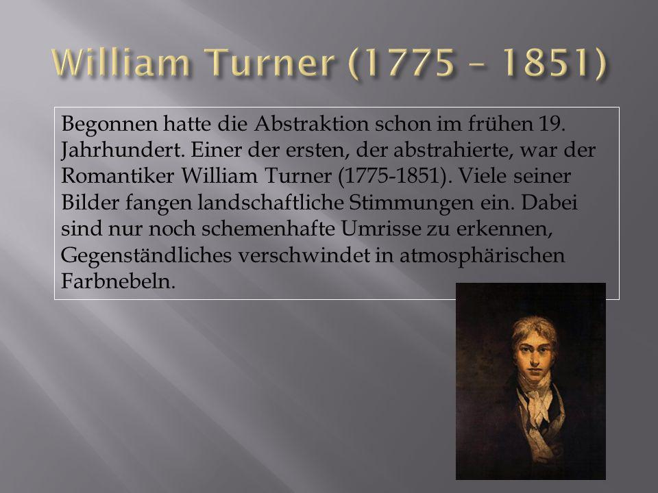William Turner (1775 – 1851)