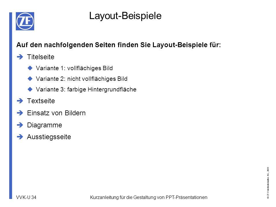 Layout-Beispiele Auf den nachfolgenden Seiten finden Sie Layout-Beispiele für: Titelseite. Variante 1: vollflächiges Bild.