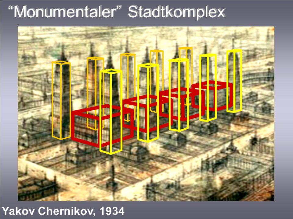 Monumentaler Stadtkomplex