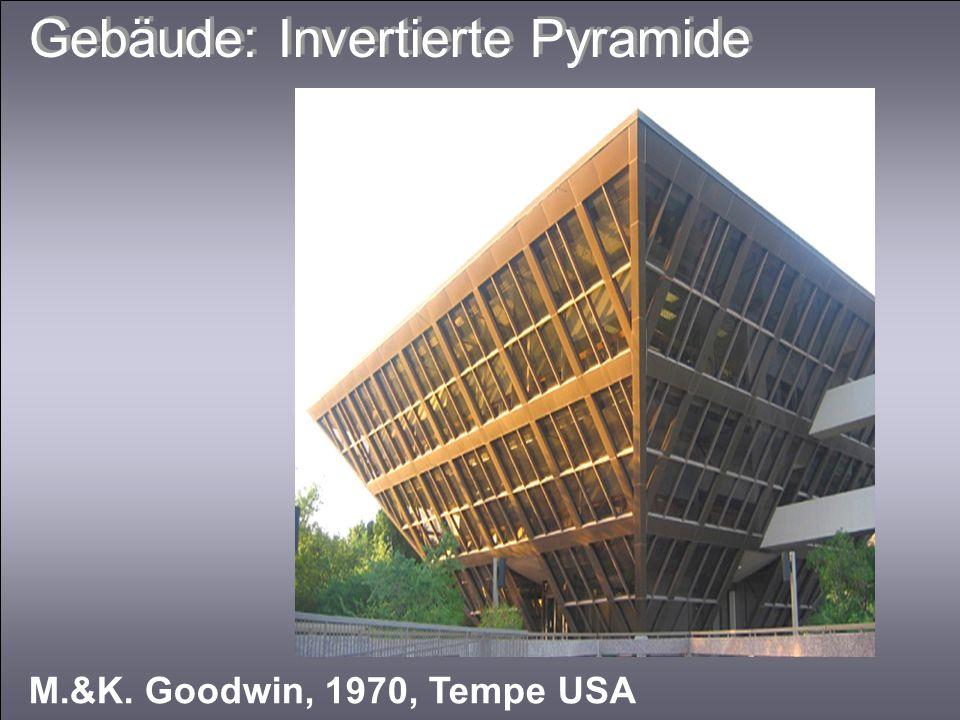 Gebäude: Invertierte Pyramide