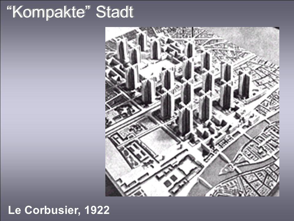 Kompakte Stadt Le Corbusier, 1922