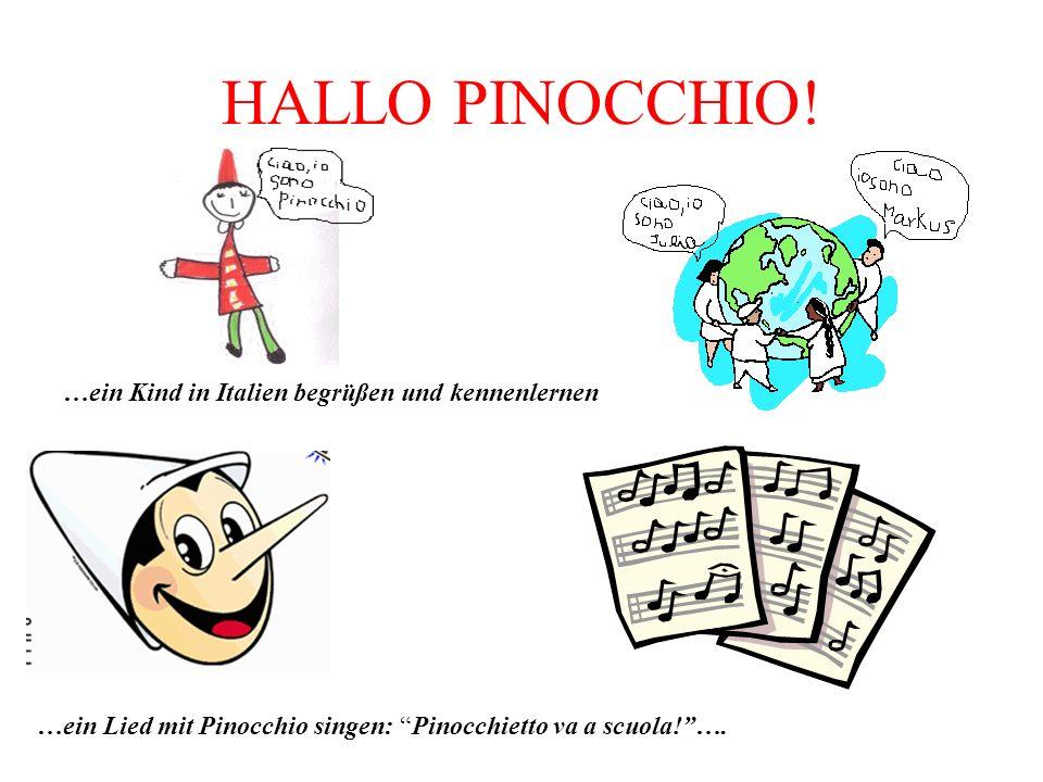 HALLO PINOCCHIO! …ein Kind in Italien begrüßen und kennenlernen
