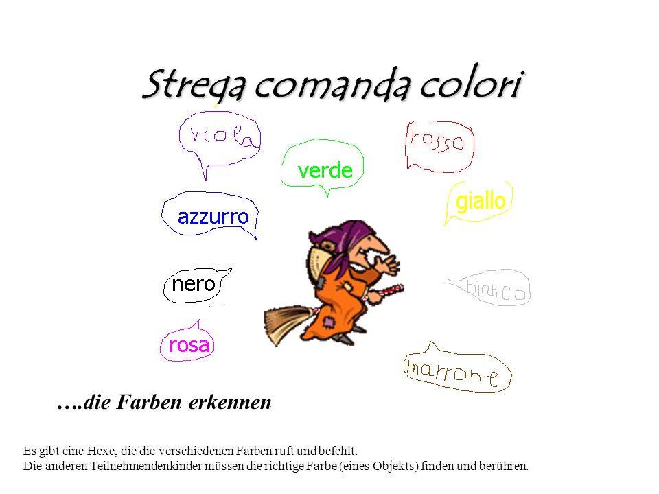 Strega comanda colori ….die Farben erkennen