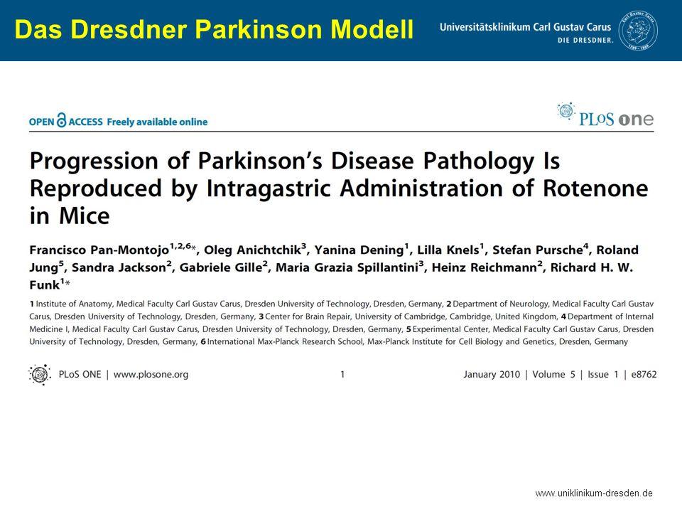 Das Dresdner Parkinson Modell