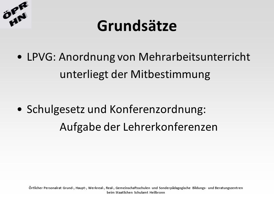 beim Staatlichen Schulamt Heilbronn