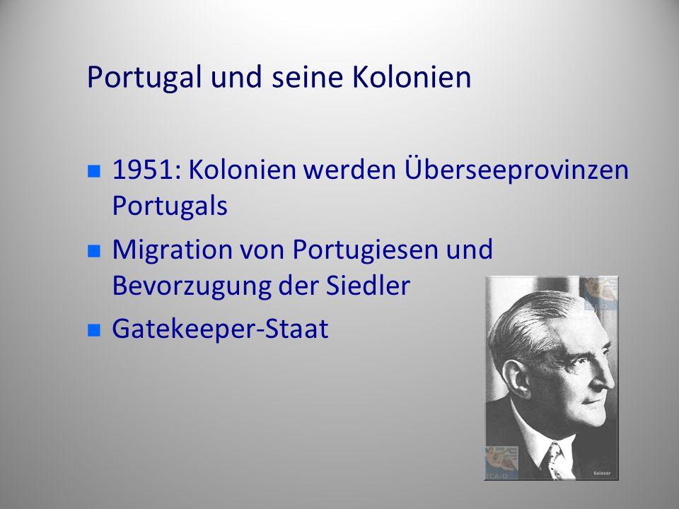Portugal und seine Kolonien